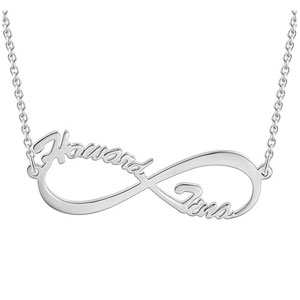 SOUFEEL Infinity Love Personalized Necklace