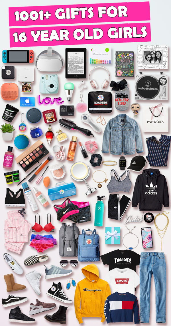 Sweet 16 Gifts For 16 year old girls