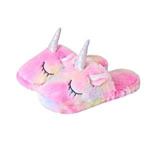 Anddyam Kids Family Unicorn Slippers