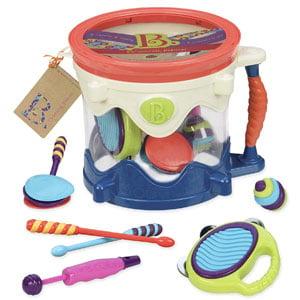 B. toys B. Drumroll