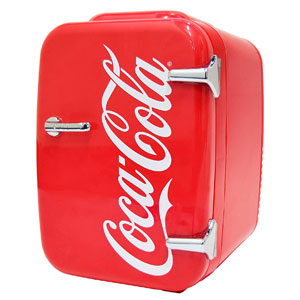 Coca-Cola Vintage Mini Fridge
