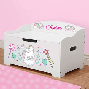 DIBSIES Personalized Modern Expressions Toy Box