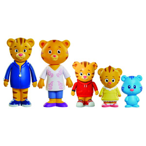 Daniel Tigers Neighborhood Family Figures