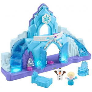 Disney Frozen Elsas Ice Palace by Little People