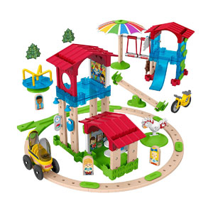 Fisher-Price Wonder Makers Slide & Ride Schoolyard