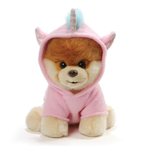 Gund Boo Unicorn Outfit Plush