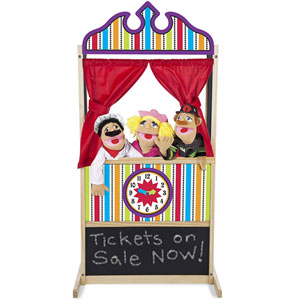 Melissa & Doug Deluxe Puppet Theater