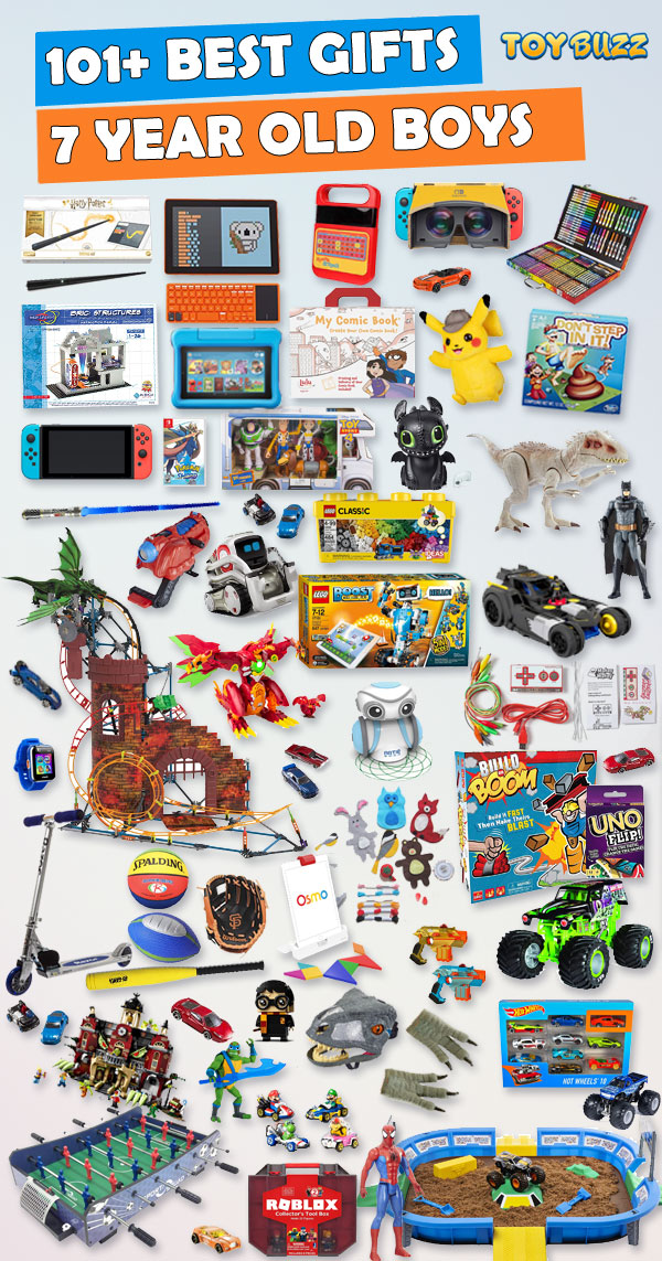 Gifts For 7 Year Old Boys Best Toys For 2020