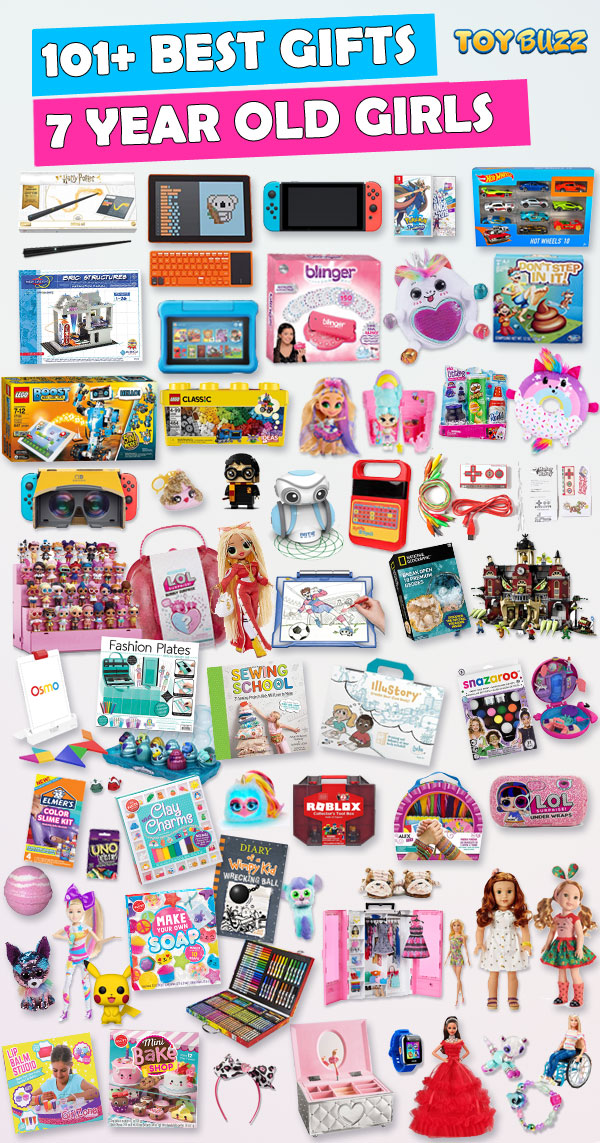 Best Toys and Gifts for 7 Year Old Girls 2019