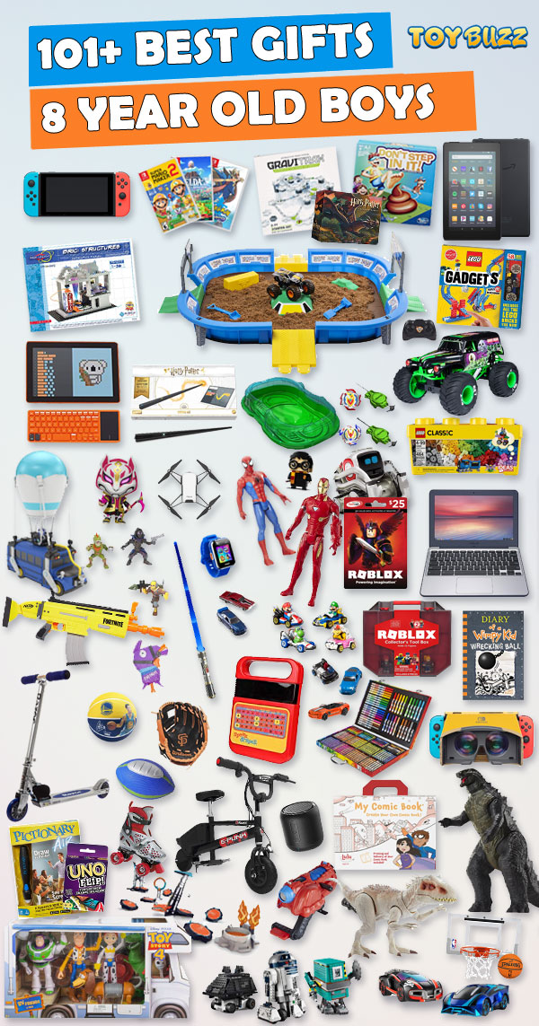 Best Toys and Gifts for 8 Year Old Boys 2019