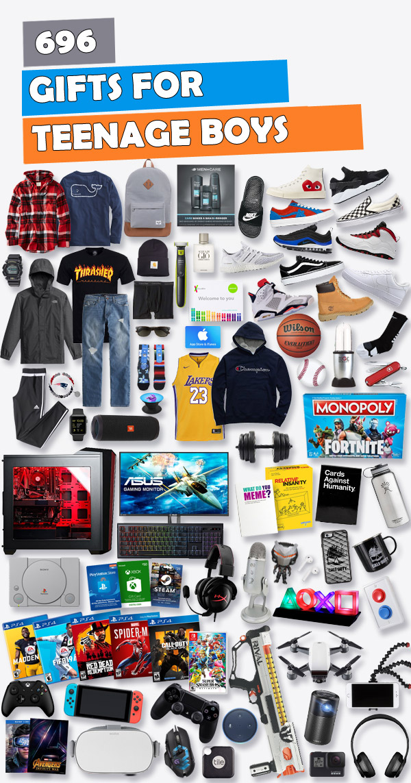 Best Christmas Gifts For Teen Boys - Gifts for Teen Boys