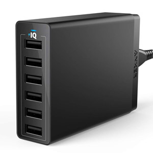 Anker 6-Port USB Wall Charger
