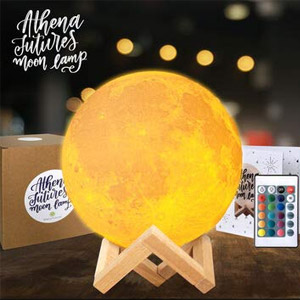 Athena Futures Moon Lamp