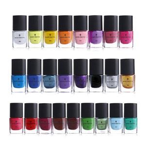BORN PRETTY 6ml Nail Art Stamping Polish, 25 Colors Set