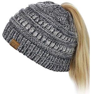C.C Ponytail Beanie Hat
