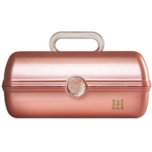 Caboodles On The Go Girl Rose Gold Case