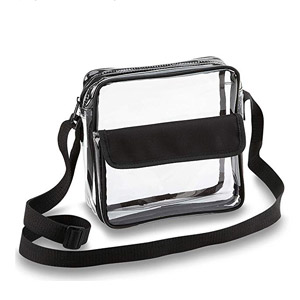 Clear Crossbody Messenger