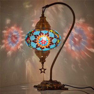 CopperBull Moroccan Table Lamp