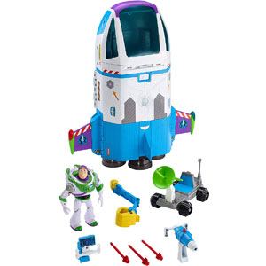 Disney•Pixar Toy Story Buzz Lightyear Star Command Spaceship Playset