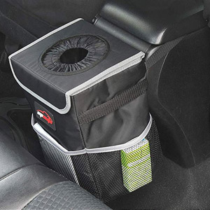 EPAuto Car Trash Can with Lid