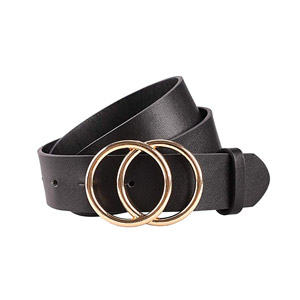 Earnda Double Ring Leather Belt