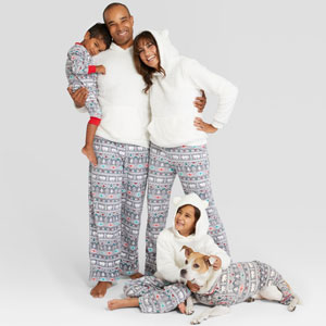 Fuzzy Bear Family Pajama Set