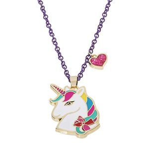 Jojo Siwa pendentif Licorne avec coeur