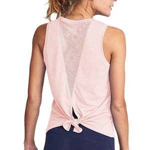 Mippo Mesh Open Back Tank