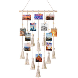 Mkono Hanging Photo Display
