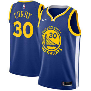 Nike Stephen Curry Golden State Warriors NBA Youth 8-20 Road Jersey