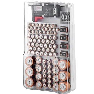 The Battery Organizer Storage Case