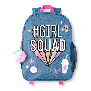 The Childrens Place Girls Backpack