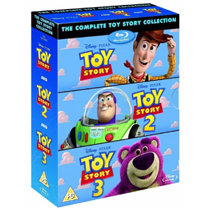 The Complete Toy Story Collection 1-3