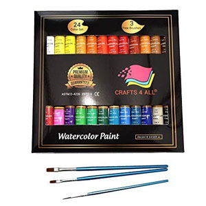 Watercolor Paint Set by Crafts 4 All