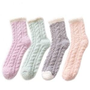 Zando Fuzzy Socks