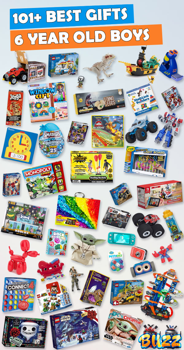 Best Toys for 6 Year Old Boys