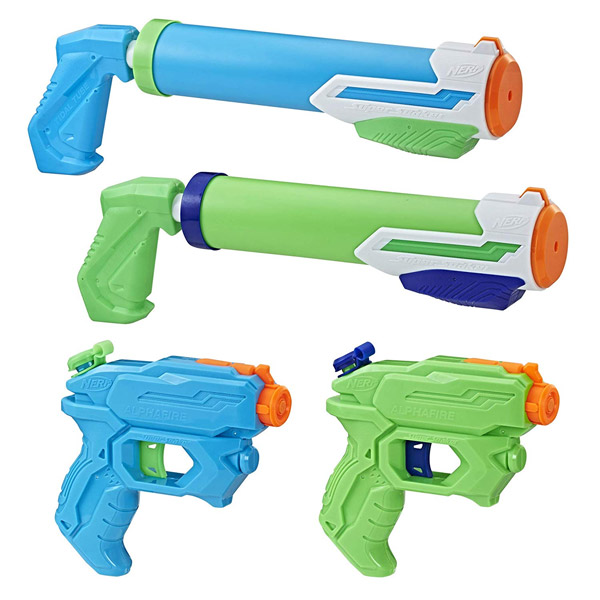 NERF SUPER SOAKER FLOODTASTIC 4-PACK