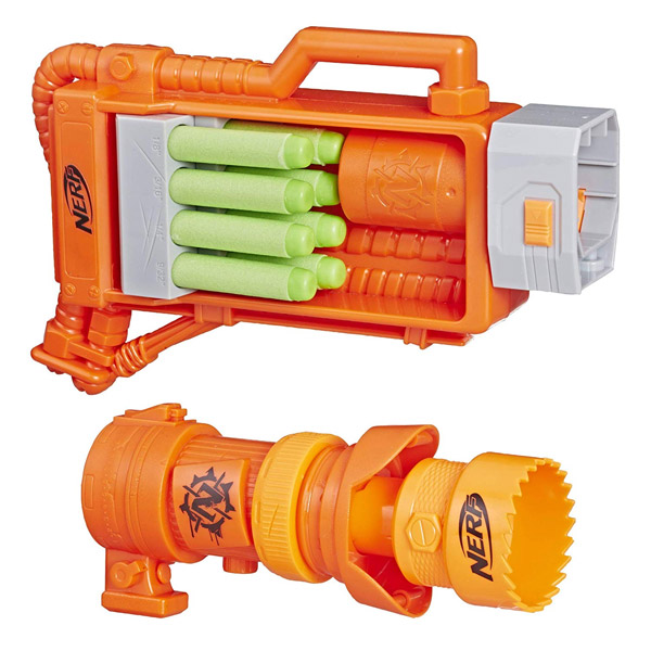 NERF ZOMBIE STRIKE NAILBITER: ZOOM & DOOM