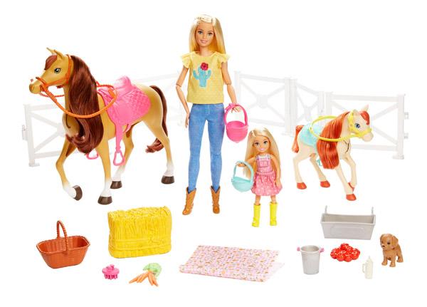 Barbie Hugs N Horses
