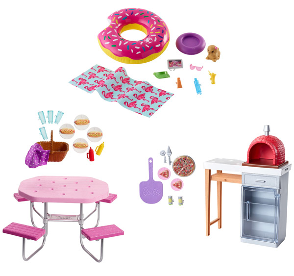 Barbie Outdoor Furniture Assortment