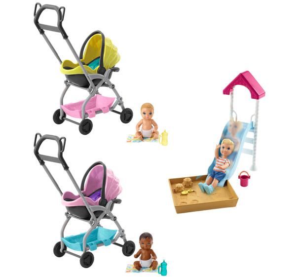 Barbie Skipper Babysitters INC Doll & Playset Assortment