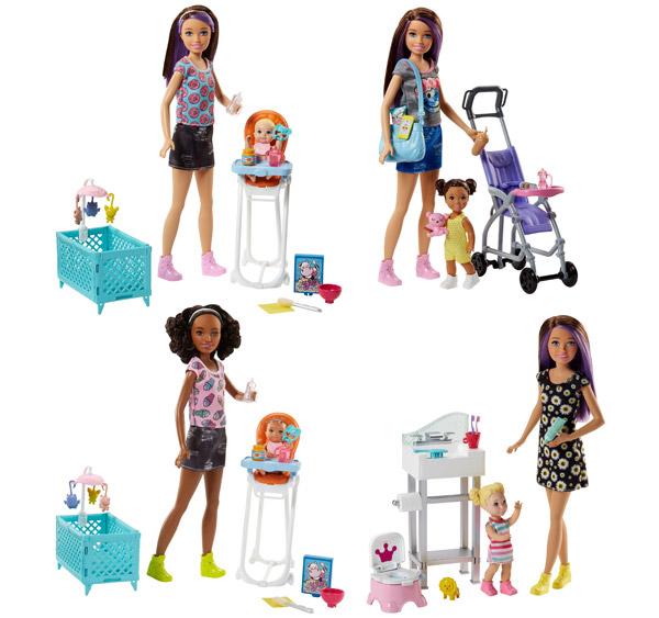 Barbie Skipper Babysitters INC Dolls & Accessory Assortment