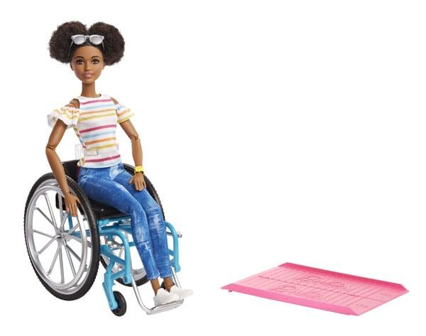 Barbie Fashionista with Wheelchair Assortment