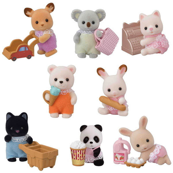 Calico Critters Blind Bags - Baby Shopping Series