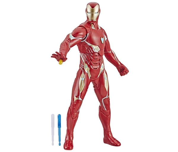 MARVEL AVENGERS: ENDGAME REPULSOR BLAST IRON MAN 14-INCH Feature Figure