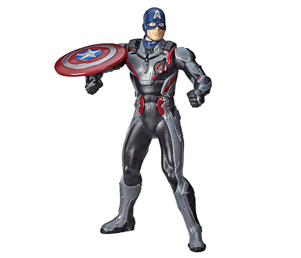 MARVEL AVENGERS: ENDGAME SHIELD BLAST CAPTAIN AMERICA 14-INCH Feature Figure