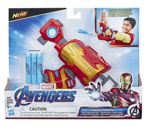 MARVEL AVENGERS: ENDGAME IRON MAN BLAST REPULSOR GAUNTLET