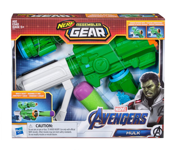 MARVEL AVENGERS: ENDGAME NERF ASSEMBLER GEAR Role Play