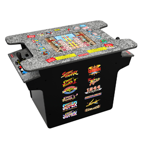 Arcade1Up Street Fighter II Head-To-Head Gaming Table