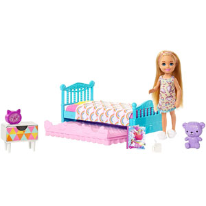 Barbie Club Chelsea Bedtime Playset